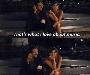 music, begin again, and movie image