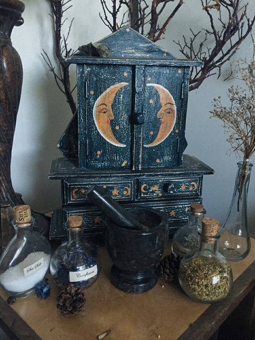 witch, witchcraft, and wicca image