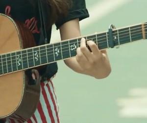 guitar, header, and bts image