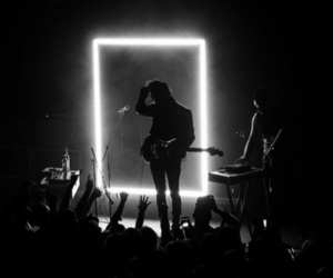 the 1975 and concert image