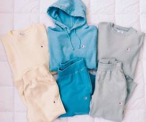 clothes, hoodie, and sweats image
