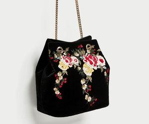 bag, Zara, and embroidery image