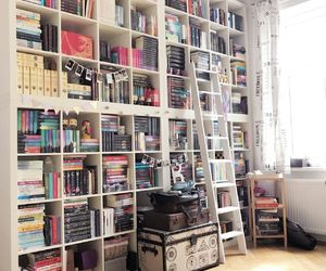 books, libros, and perfect room image