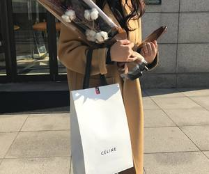 fashion, flowers, and celine image