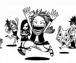 fairy tail, happy, and Lucy image