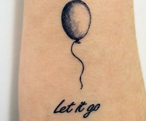 balloon, beautiful, and black image