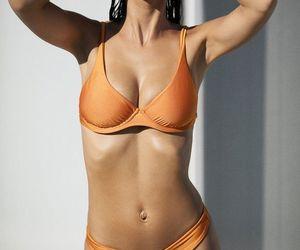 bikini, Hot, and model image