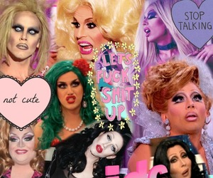 drag queen, drag race, and RuPaul image