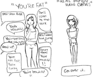 skinny, fat, and curves image