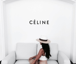 fashion, girl, and celine image