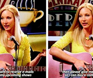 funny, phoebe buffay, and friends image