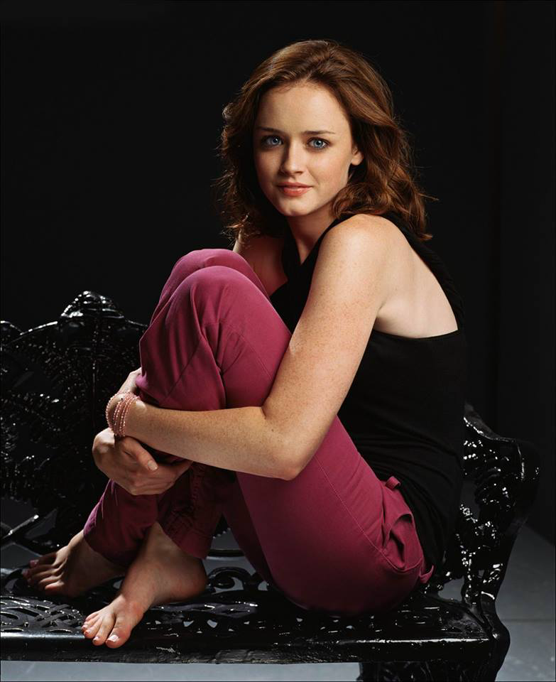 alexis bledel, beauty, and blue eyes image