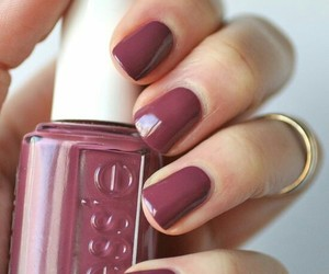 finger, girls, and mauve image