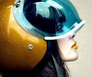 helmet and photography image