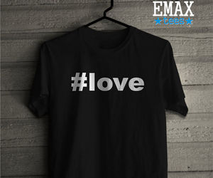 tumblr shirt, love, and love t-shirt image