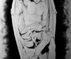 article, fallen angel, and God is Love image
