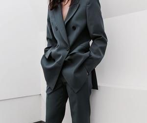 fashion, minimalist, and suit image