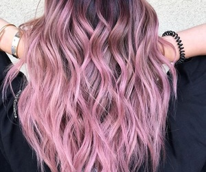 beauty, coloured hair, and hair image