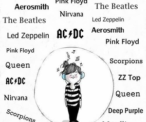 music, rock, and the beatles image