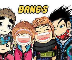 bangs and big bang chibi image