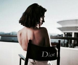 dior, bella hadid, and model image
