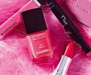 pink, chanel, and dior image