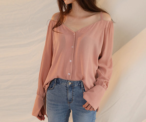 asian fashion, blouse, and top image