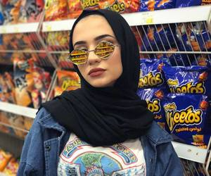 fashion, hijab, and hipster image