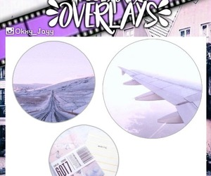 edit, overlay, and purple image
