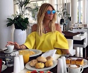 blond, yellow, and fashion image