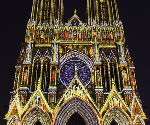 Cathedrale, france, and lumiere image