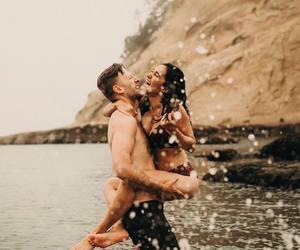 fun, swimming, and smiling image