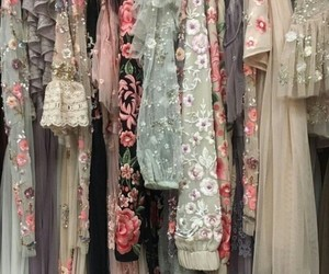 dresses and floral image