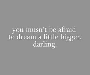 darling, Dream, and quote image