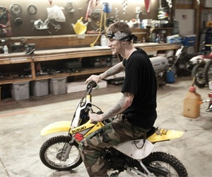 bike, motor bike, and machine gun kelly image