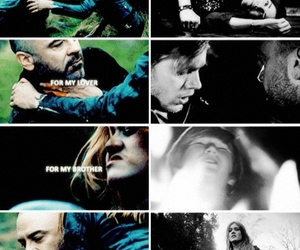 jace wayland, clary fray, and valentine morgenstern image