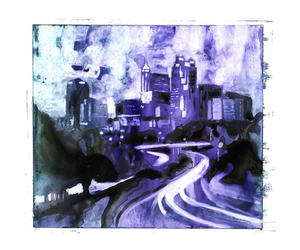 abstract art, etsy, and watercolor image