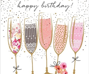 birthday, champagne, and b-day image