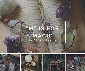 crystal, magic, and moodboard image