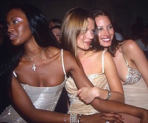 90s, models, and Naomi Campbell image