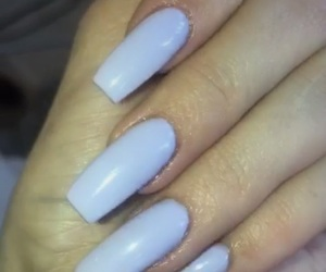 lilac, nails, and longnails image