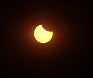 August, solar eclipse, and sun image