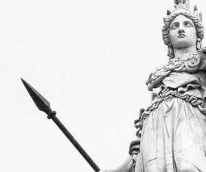 athena, statue, and sculpture image