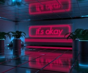 quotes, grunge, and neon image