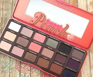 makeup, too faced, and sweet peach image