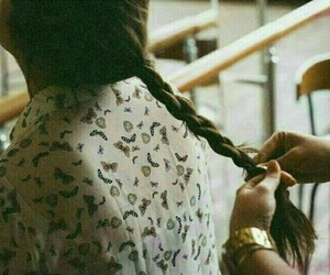beautiful, girly, and hairstyle image