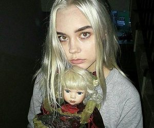 doll, girl, and grunge image