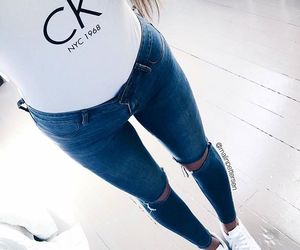 fashion, CK, and style image