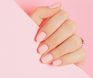 pink, nails, and pastel image