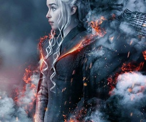 game of thrones, daenerys, and got image